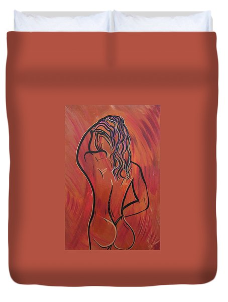 Morning Shower Duvet Cover