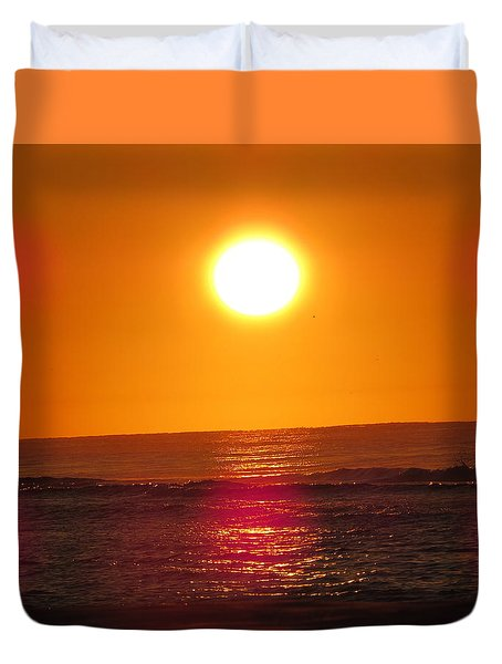 Morning Sun Break Duvet Cover