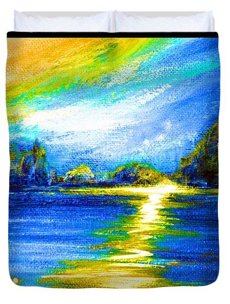 Morning Sunrise 9.6 Duvet Cover