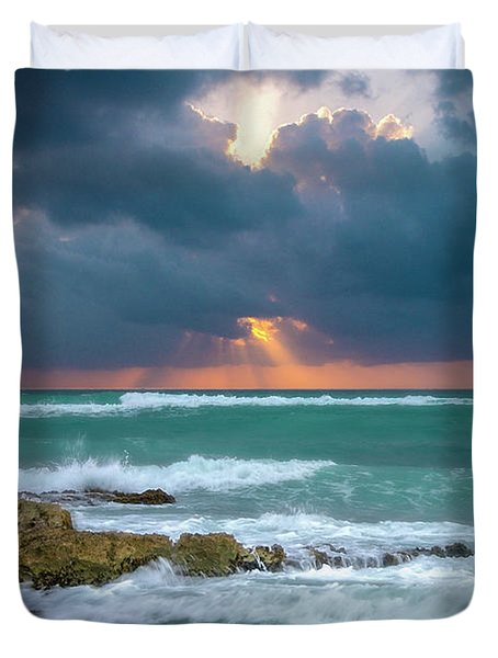 Morning Surf Duvet Cover