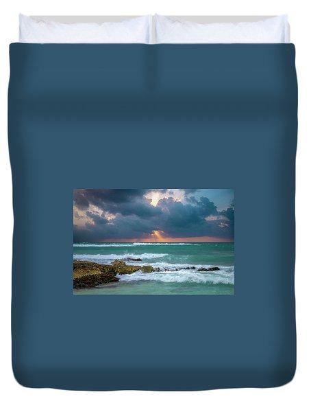 Morning Surf Duvet Cover