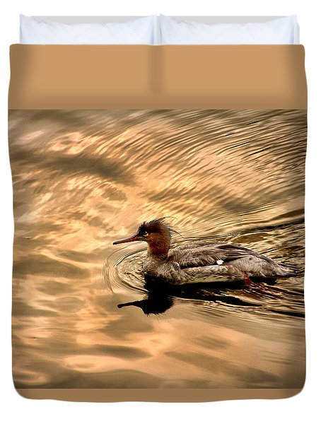 Morning Swim Duvet Cover