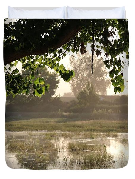 Morning Tranquility  Duvet Cover