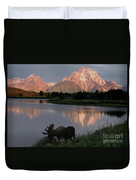 Morning Tranquility Duvet Cover