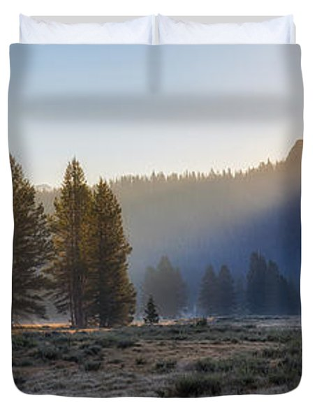 Morning Tuolomne  Duvet Cover