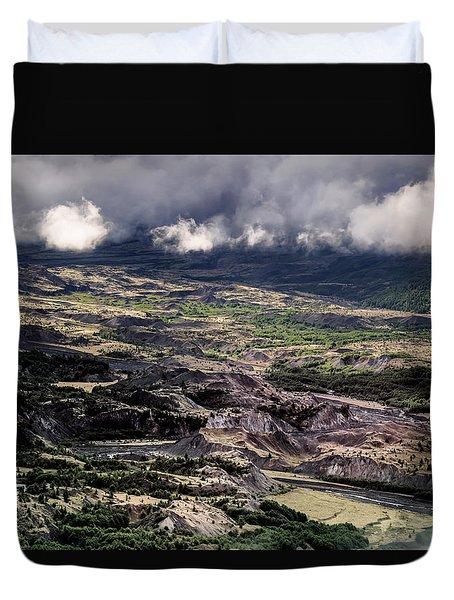 Morning Valley Duvet Cover