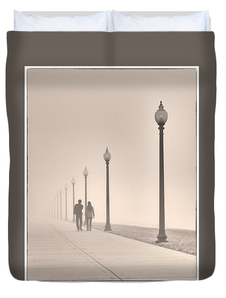 Morning Walk Duvet Cover by Don Spenner