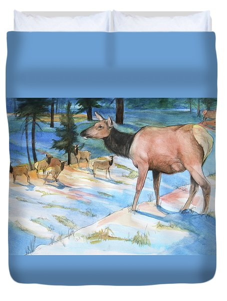 Morning Watch Duvet Cover