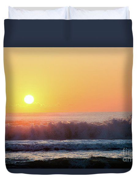 Morning Waves Duvet Cover