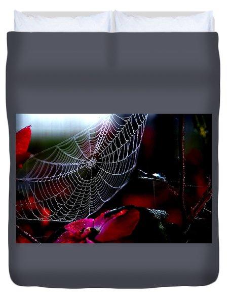 Morning Web Duvet Cover