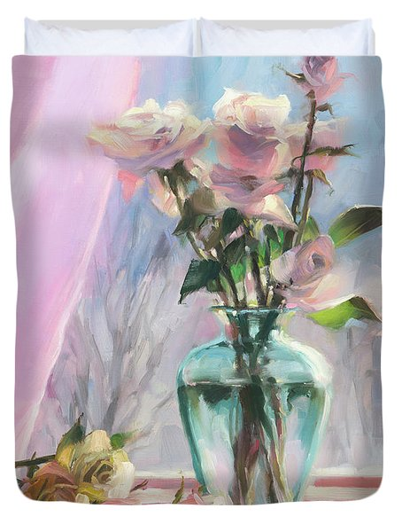Morning's Glory Duvet Cover