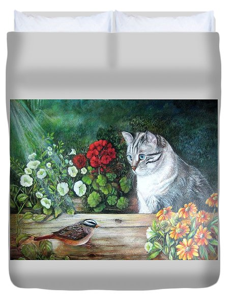 Morningsurprise Duvet Cover