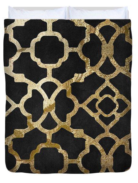 Moroccan Gold IIi Duvet Cover