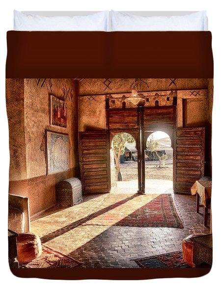Moroccan Kasbah Duvet Cover