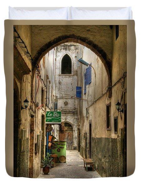 Moroccan Medina Duvet Cover