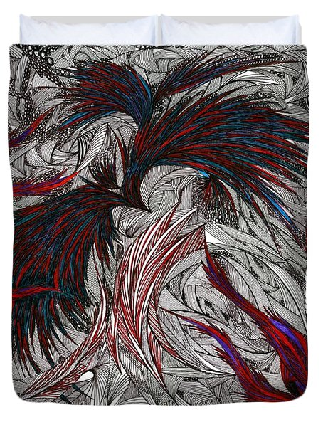 Morpheus Duvet Cover by Robert Nickologianis