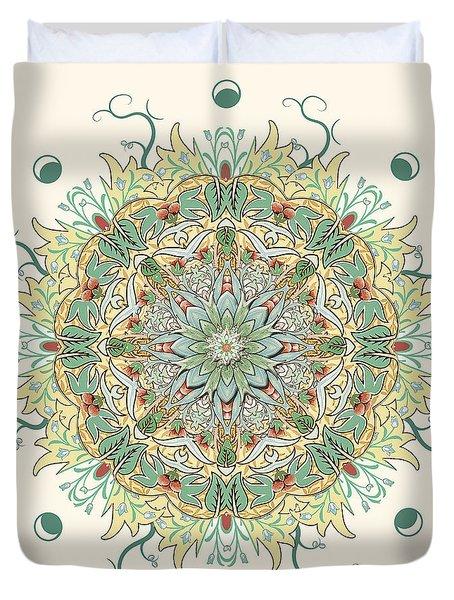 Morris Artful Garden Mandala Duvet Cover
