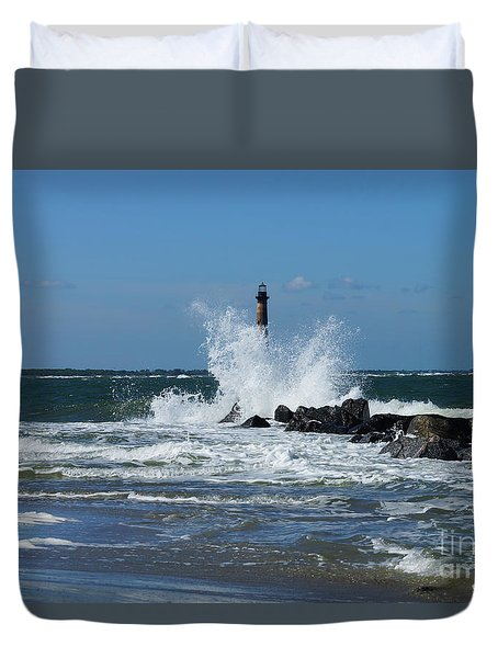 Morris Lighthouse Splash Duvet Cover