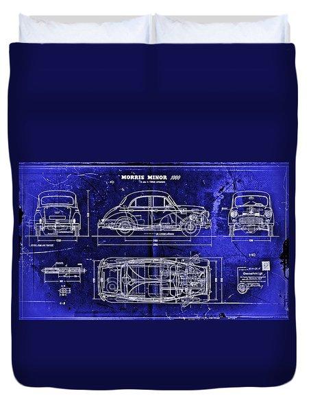 Morris Minor Car Duvet Cover