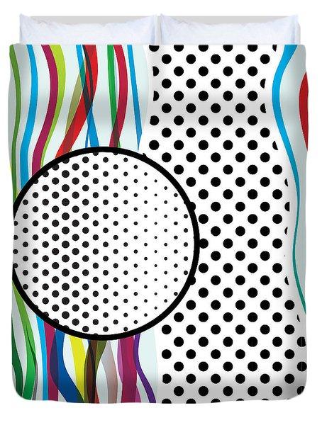 Morris Pop-art Duvet Cover