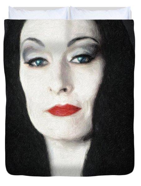 Morticia Addams  Duvet Cover