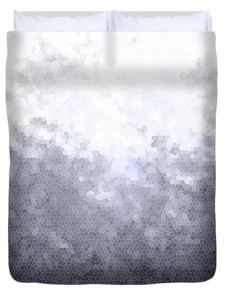 Mosaic Ombre Duvet Cover