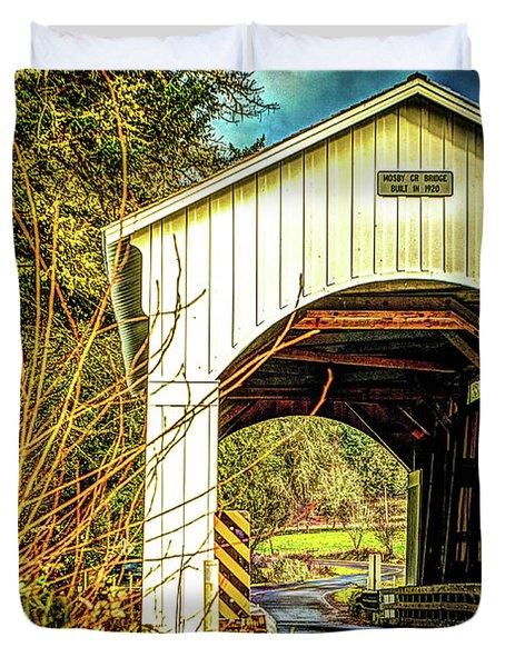Mosby Creek Bridge Duvet Cover