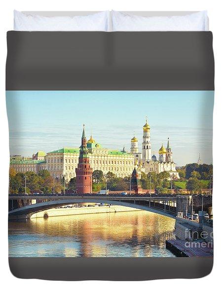 Moscow, Kremlin Duvet Cover