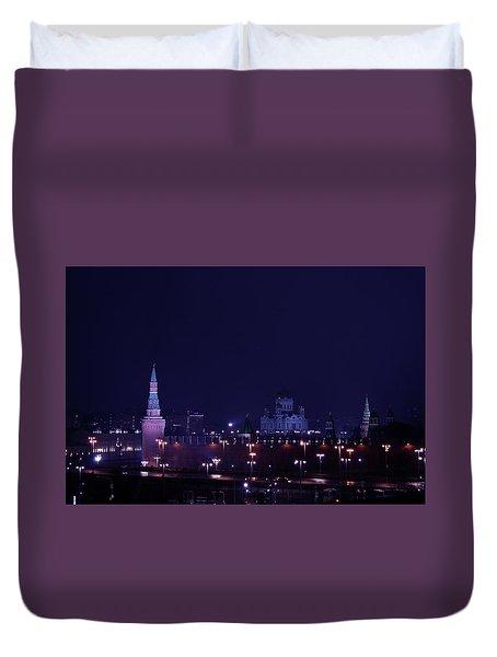 Moscow Kremlin Duvet Cover