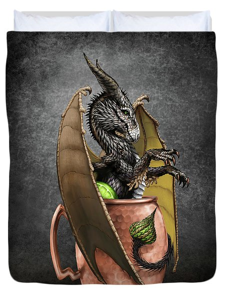 Moscow Mule Dragon Duvet Cover