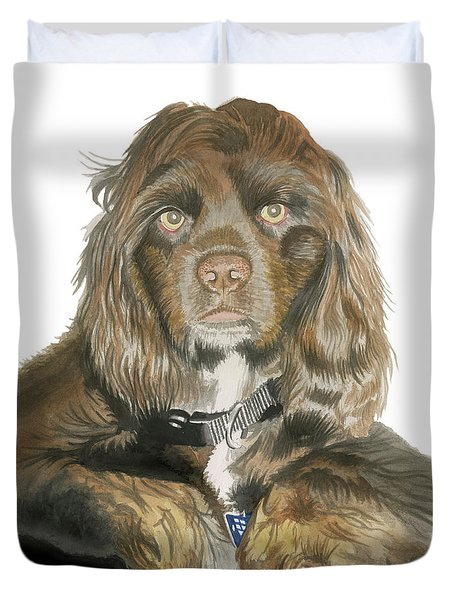 Mose - Cocker Spaniel Duvet Cover