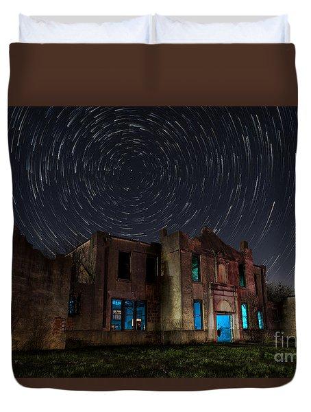 Mosheim Texas Schoolhouse Duvet Cover