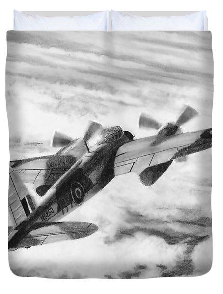 Mosquito Fighter Bomber Duvet Cover