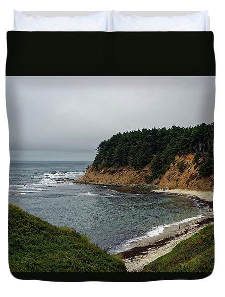 Moss Beach Duvet Cover