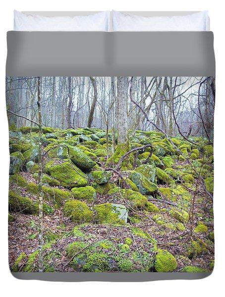 Moss - Gatlinburg Duvet Cover