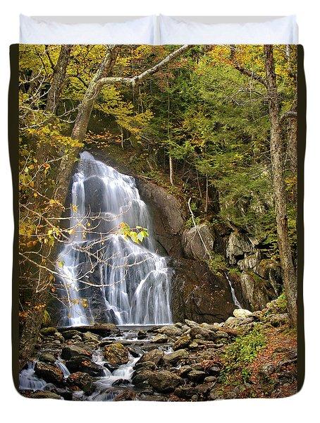 Moss Glen Falls Duvet Cover
