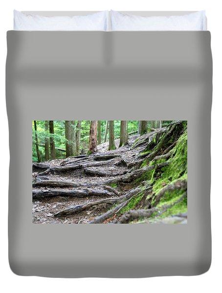 Moss Glen Falls - Vermont Duvet Cover