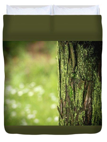 Moss Duvet Cover by Hyuntae Kim