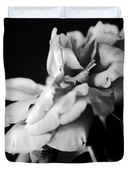 Moss Rose I Duvet Cover