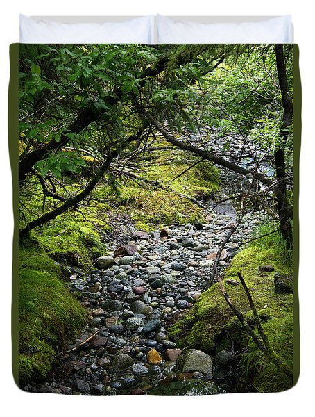 Moss Stream Duvet Cover
