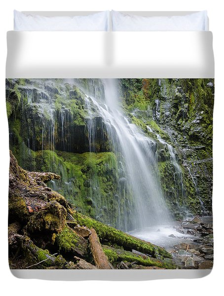 Mossy Enchantment Duvet Cover