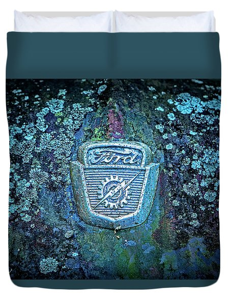 Mossy Ford  Duvet Cover