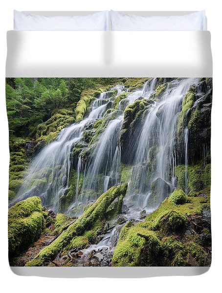 Mossy Perfection Duvet Cover