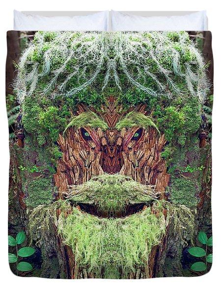 Mossman Tree Stump Duvet Cover