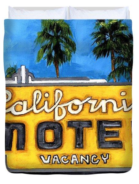 Motel California Duvet Cover