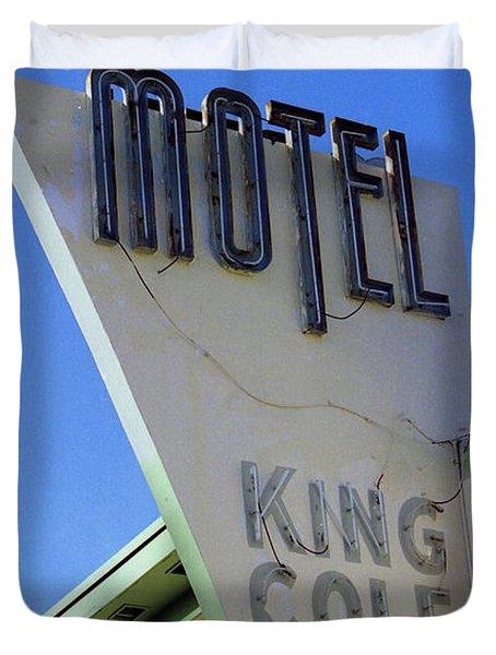 Motel King Cole Duvet Cover