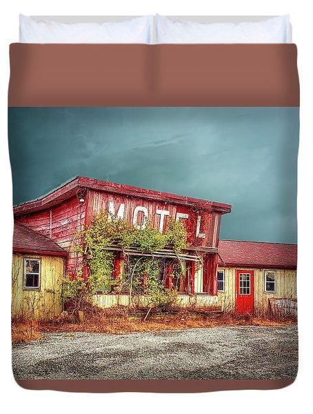 Motel Duvet Cover by Mary Timman