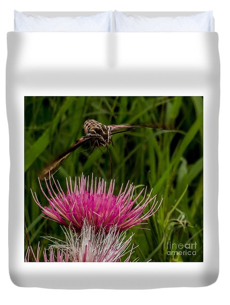 Moth 1 Duvet Cover