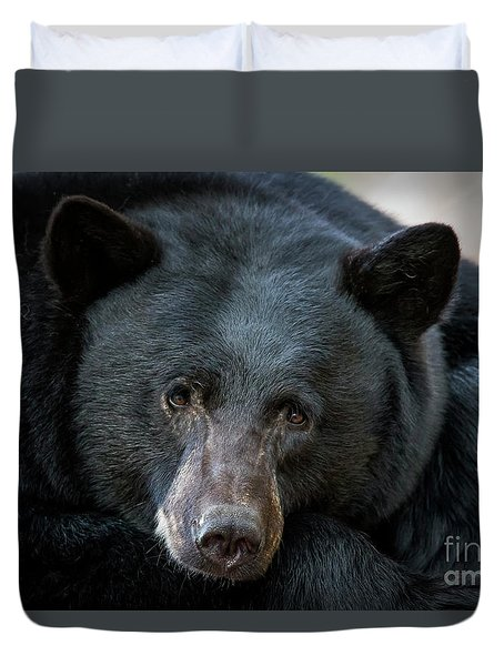 Mother Bear Duvet Cover