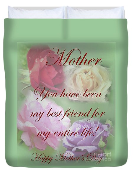 Mother Duvet Cover